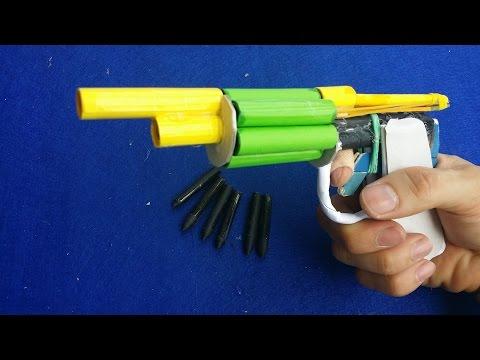 วิธีการทำกระดาษปืนที่ยิงด้วยกระสุน | ปืนพกลูก
