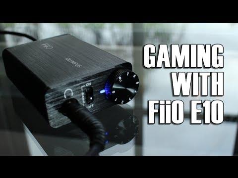 Fiio Olympus E10 Headphone Amp & DAC for Gaming?