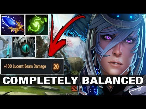 COMPLETELY BALANCED - Silent Plays Luna With Aghanim's and Refresher - Dota 2
