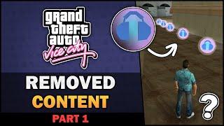 GTA VC - Cut & Changed Content [Part 1] [Beta Analysis] - Feat. SpooferJahk [ESP, TRK Subs]