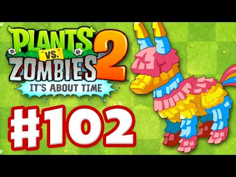 Plants vs. Zombies 2: It s About Time - Gameplay Walkthrough Part 102 - Piñata Party (iOS)