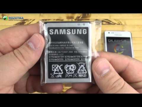 Распаковка Samsung Galaxy S II Plus I9105 Ceramic White