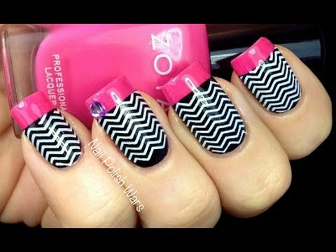 How to do Chevron Nails