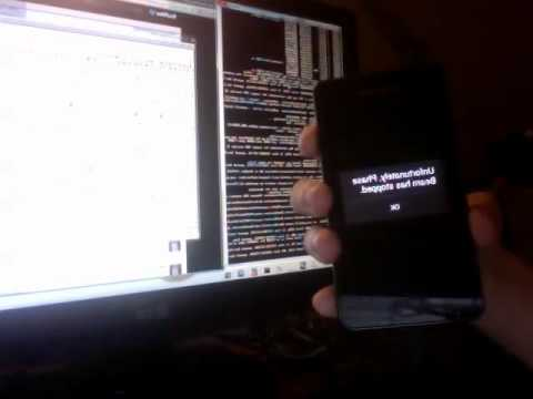 Android Ice Cream Sandwich running on Galaxy S2