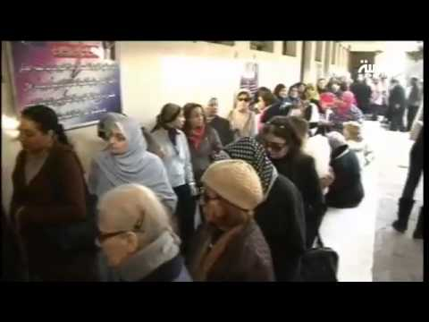 Egyptians vote on new constitution after a night of clashes