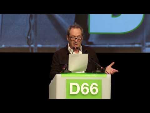 Jubileumcongres D66 - Persoonlijke herinnering aan Hans van Mierlo door Gijs Scholten van Aschat