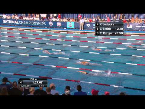 Katie Ledecky Breaks World Record! -- Arena Performance of the Month