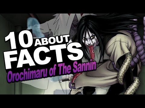 10 Facts About Orochimaru of The Legendary Sannin You Should Know w/ ShinoBeenTrill thumbnail