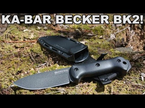 Ka-Bar Becker BK2! Heavy Duty Knife at a Lightweight Price