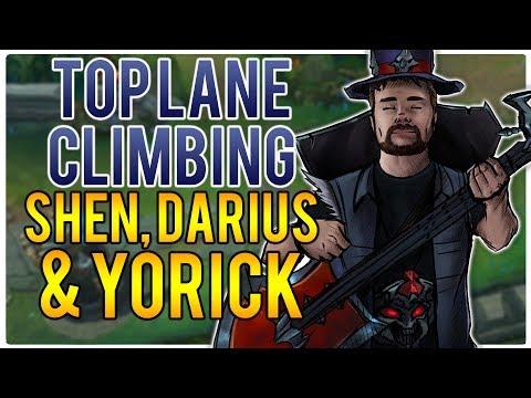 TOP LANE CLIMBING - Climb to Masters | League of Legends