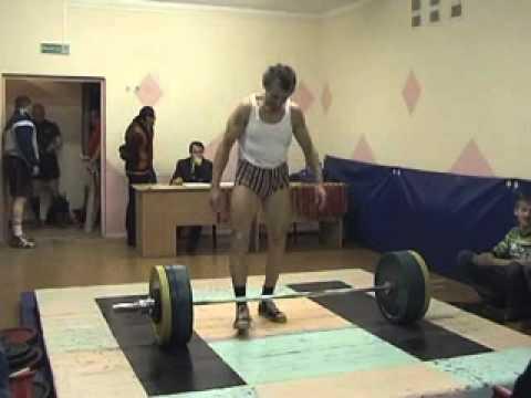 Master Belarus 2009 deadlift.flv