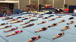 Baby Shark gymnastics challenge BredaGym