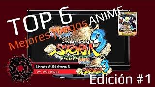 Top 6 mejores juegos Anime | PC - Xbox 360 - Xbox One - PS3 y PS4