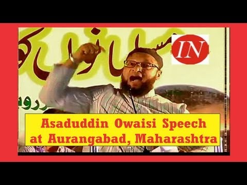 Asaduddin Owaisi Challenging Speech for Muslim Backward Class Reservation at Maharashtra, India