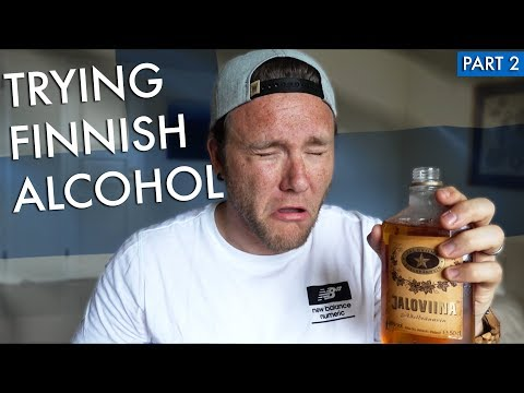 TRYING FINNISH ALCOHOL | Part 2