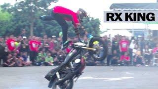 Freestyle Motor RX KING Kelas Profesional By Freak Riders Jogja Jogja Bike Festival JBF