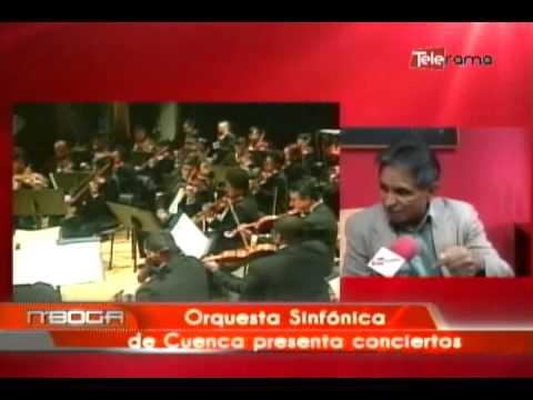 Orquesta sinfónica de Cuenca presenta conciertos