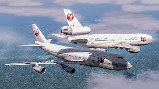 Near Collision Over Japan | Boeing 747 Almost Crash with a DC-10 | Japan Airlines Mid-Air Incident