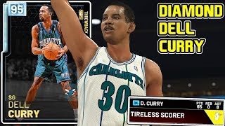 DIAMOND DELL CURRY 65PT GAMEPLAY! THIS IS WHY HES THE BEST CURRY IN NBA 2k19 MyTEAM