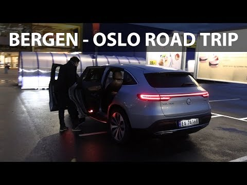 Mercedes EQC Norway road trip part 2