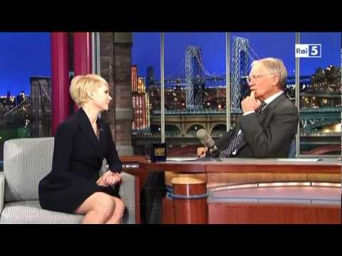 Michelle Williams @ David Letterman Show 19/02/13 SUB ITA