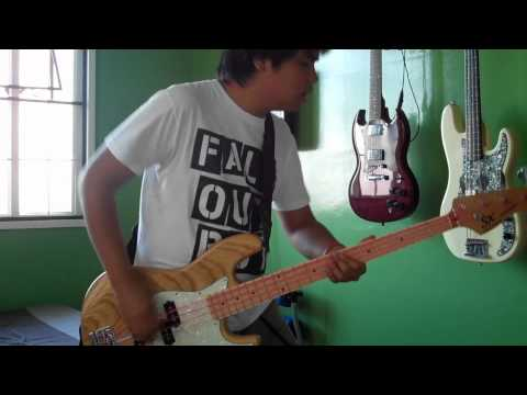 Fall Out Boy - Sugar We're Goin Down (bass cover)