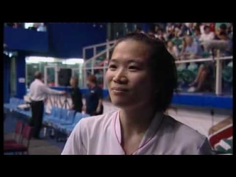 Post match interview with Chia-Chi Huang after she claimed victory in the Women's Singles at the 2010 Oceania Badminton Championships.