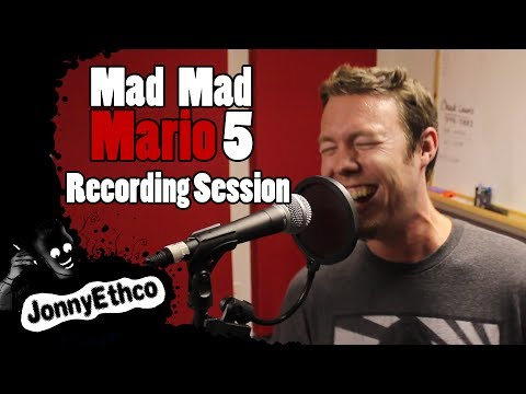 Jonnyethco Behind The Scenes: Mad Mad Mario 5 Recording Session video