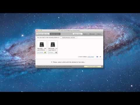 Memory Card Data Recovery Software for Mac OS X: Disk Drill