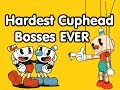☺Top 10 HARDEST Cuphead Bosses☻