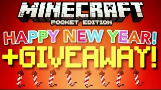 ✔️HAPPY NEW YEAR! | +GIVEAWAY! [MCPE 1.0]