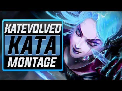 "KatEvolved ""Katarina Main"" Montage (Best Kata Plays) | League Of Legends"