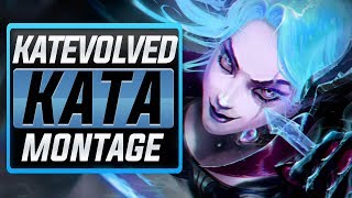 "KatEvolved ""Rank 1 Katarina"" Montage (Best Kata Plays) | League Of Legends"