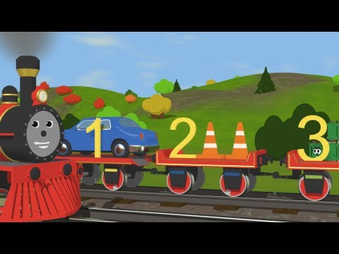 Learn To Count With Shawn The Train  -  Fun And Educational Cartoon For Kids video
