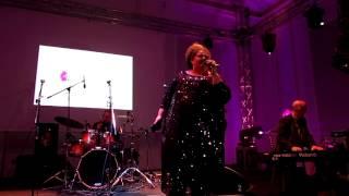 ESCKAZ in Vienna: Bojana Stamenov - She Works Hard for the Money (at Serbian party)