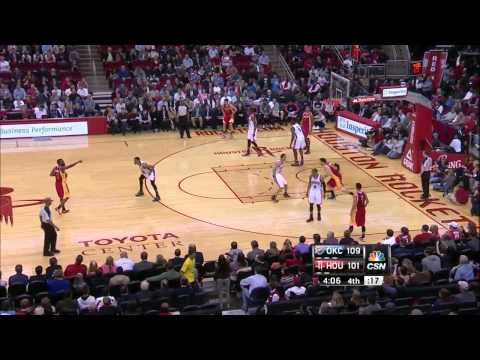 James Harden career high 46 points (7 3 pointer) vs Oklahoma Thunder full highlights 02/20/2013 HD