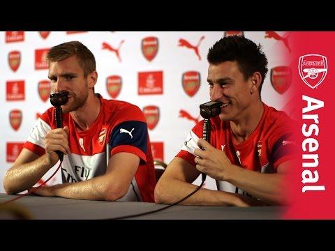 Arsenal Mertesacker Koscielny commentary