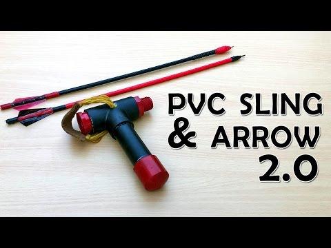 PVC Slingshot bow V 2.0   What The Hack #18