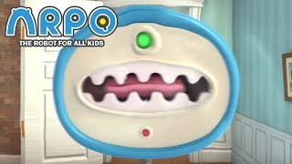 ARPO The Robot For All Kids - Man Eating Vacuum | Compilation | Cartoon for Kids