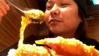【大食い】【カレーうどん専門店千吉】で千吉カレー1キロを食べてみた!