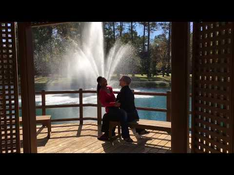 Cute Couple Kissing Alot//Relationship Goal --Fountain of Love Challenge