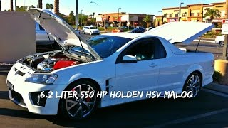 Holden 550hp HSV Maloo Conversion for USA