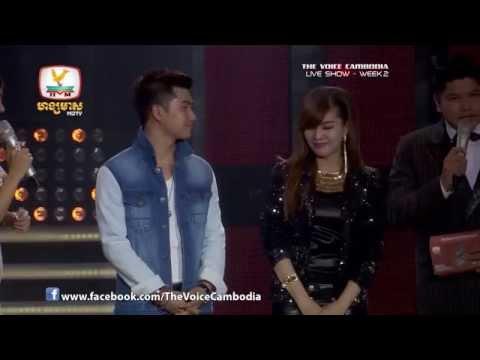 The Voice Cambodia - Live Show 2 - Chheu Pek Terb Yum - Soy Ratanak