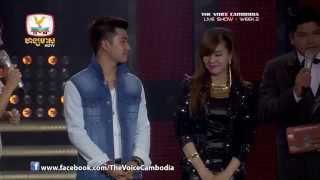 The Voice Cambodia - Live Show 2 - ឈឺពេកទើបយំ - សយ រតនះ
