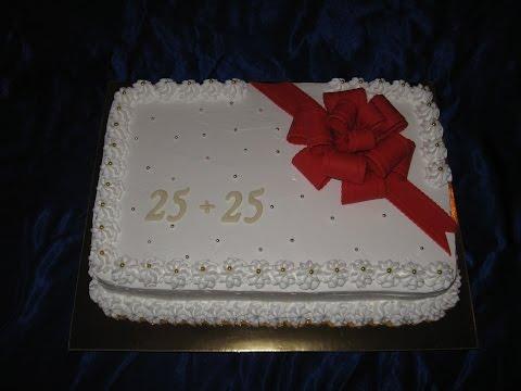 свадебные юбилейные торты, фото