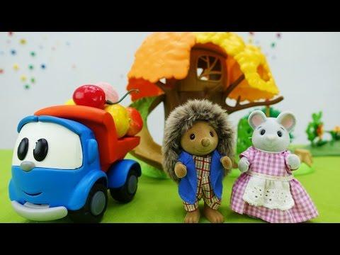 Грузовичок Лева - Развивающее видео про мышку и ежа