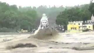 Kokohnya Arca Dewa Siwa Diterjang Banjir Bandang Di India Om Namah Sivaya