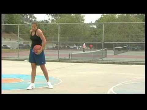 Woman's Basketball Passing Tips   Behind The Back Dribbling In Basketball