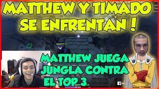 MATTHEW se ENFRENTA a TIMADO EN RANKED| DESVENDA AL TOP 3 DE AMERICA| DOTA 2