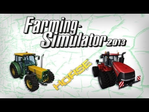Farming Simulator 2013, cachorro, galinha ,porco,cade os poneys? :D?